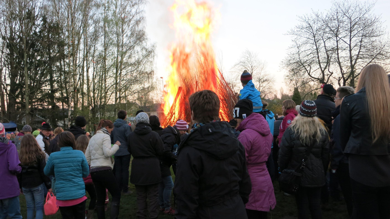 Traditionsenligt Valborgsmässofirande