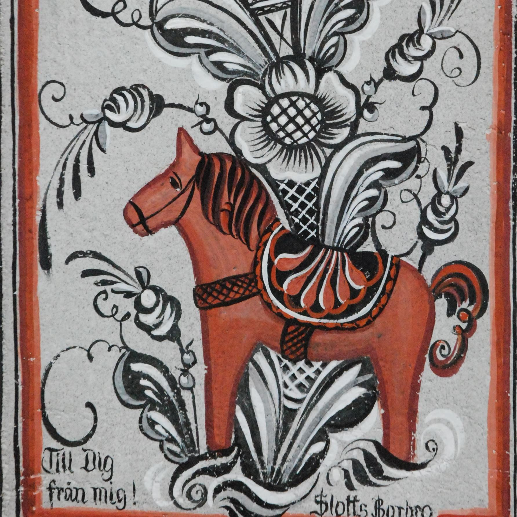 Slotts Barbros dalmåleri