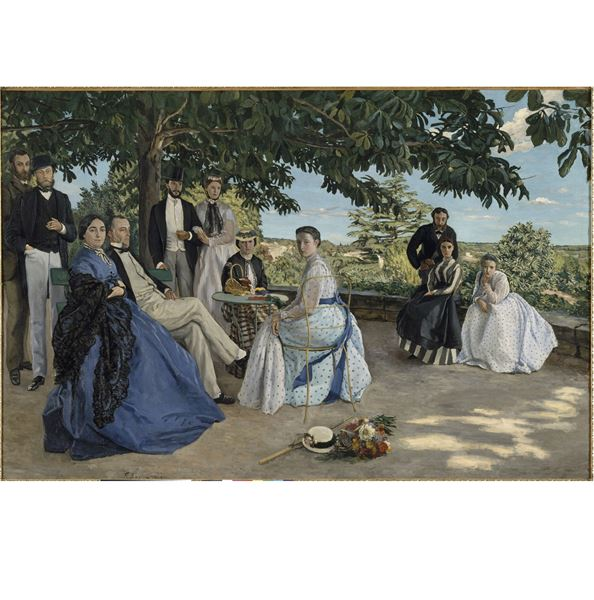 "French guided tour: ""Frédéric Bazille : une histoire, une énigme..."""
