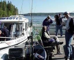 Lehmonkärki - fishing trips