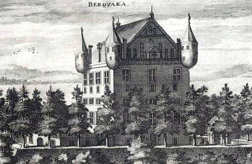 Bergkvara slottsruin