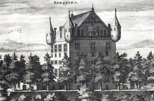The castle ruin Bergkvara