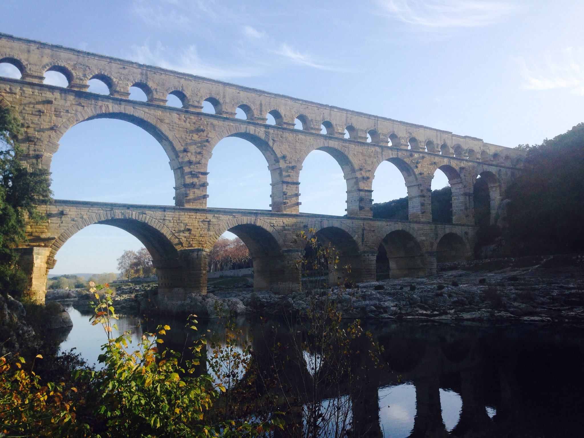 Pont du Gard/Tavel/Chateauneuf du Pape