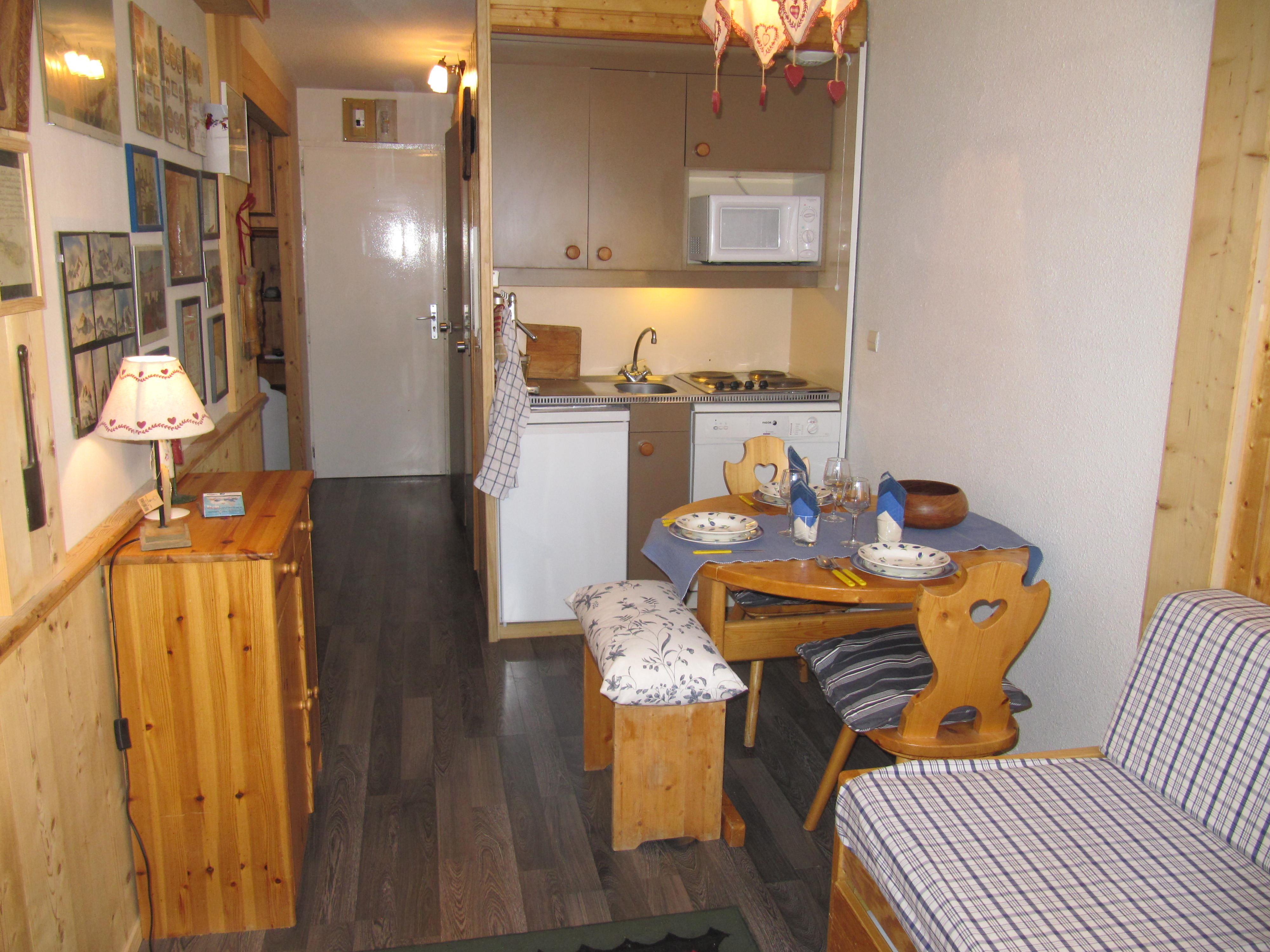 Lauzières 310 > Studio + Cabin - 3 Persons - 2 Bronze Snowflakes (MCI)