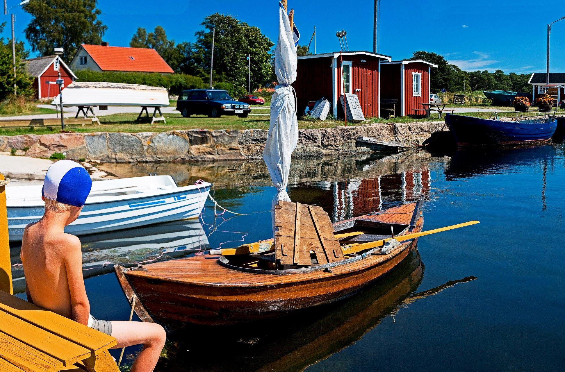 Torsö - Hafen