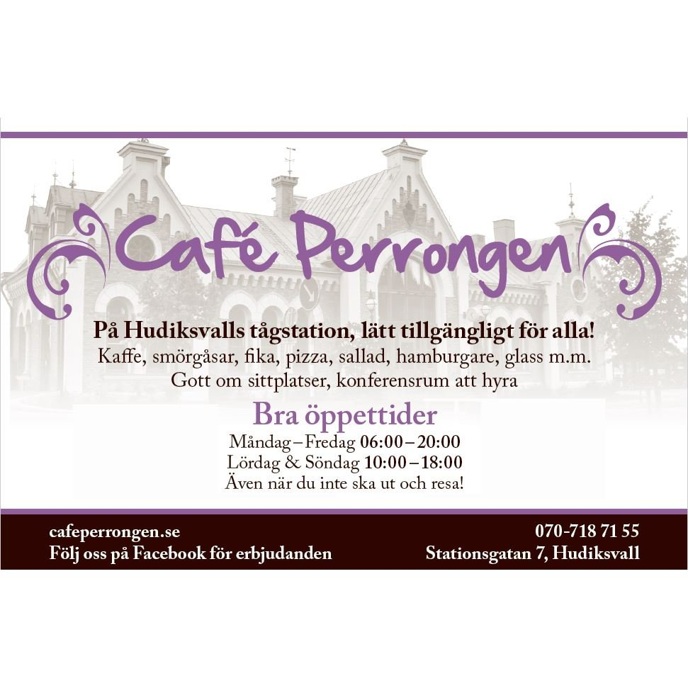 © Café Perrongen AB, Café Perrongen