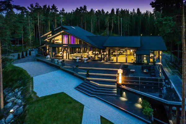 Design-huvila Villa Vellamo | Lehmonkärki