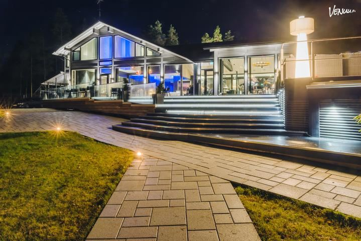Villa Vellamo, design villa