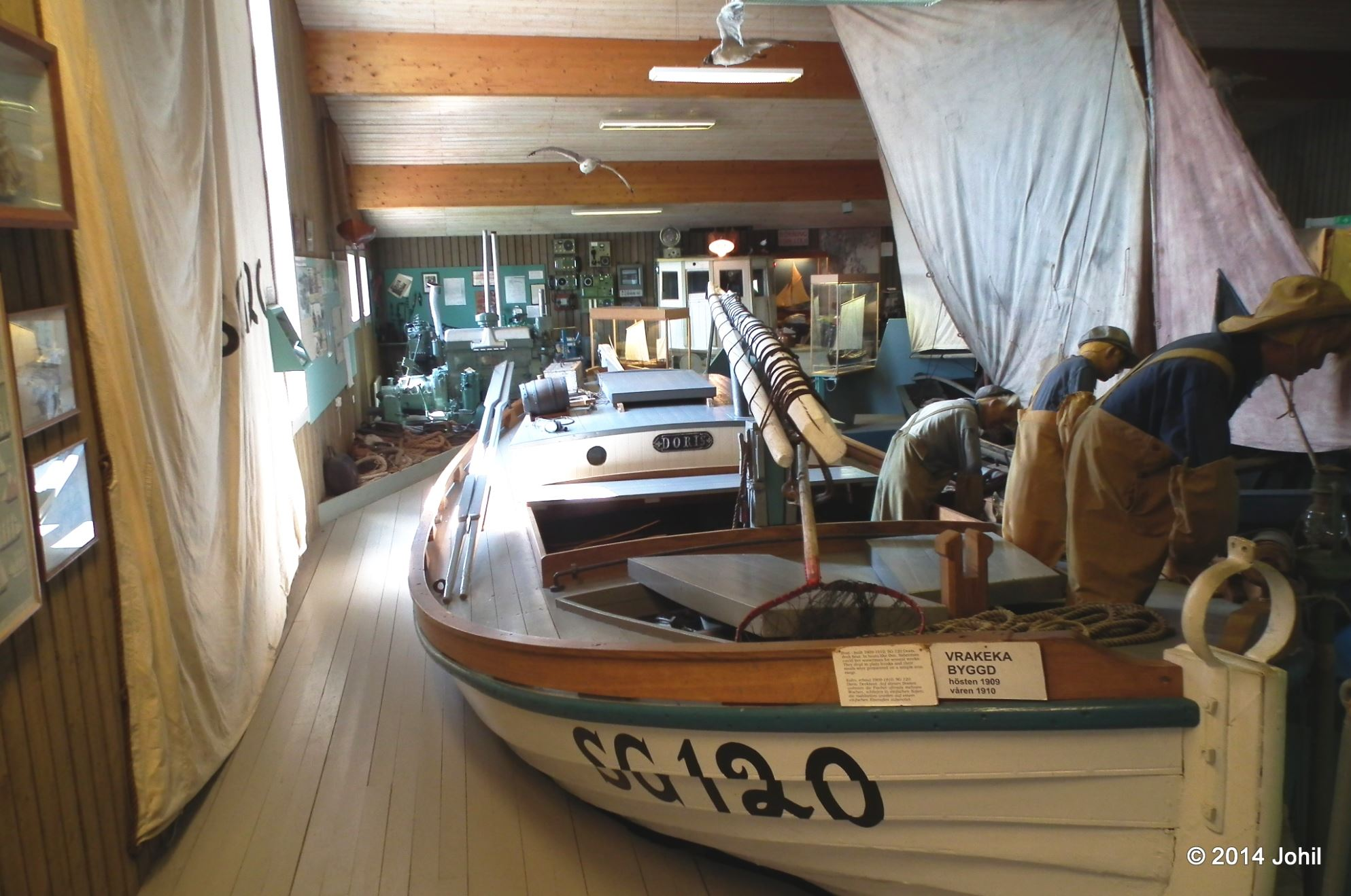 Hälleviks Fiskemuseum - Fishing museum