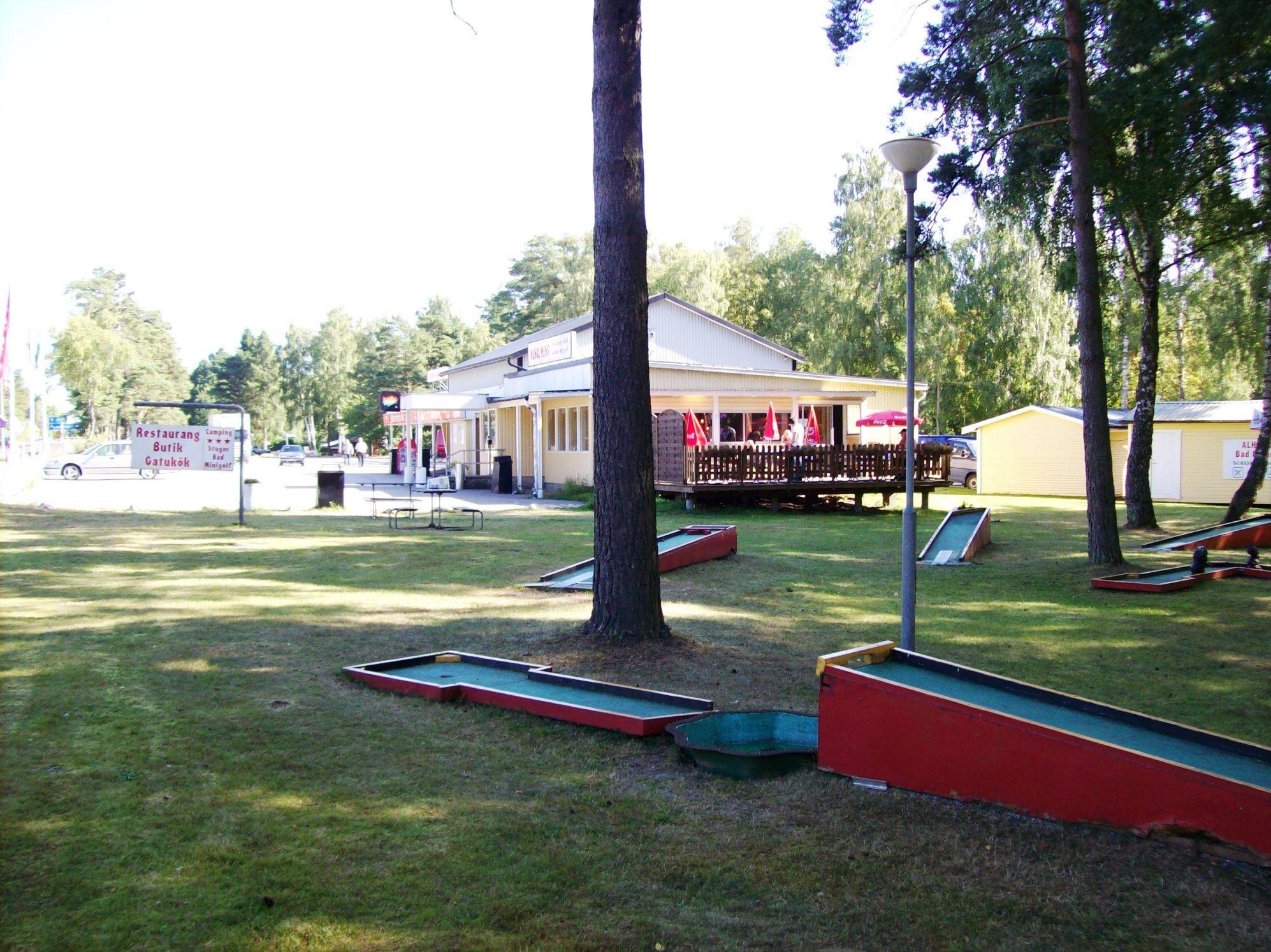 Minigolf - Alholmens Bad, Camping und Restaurant