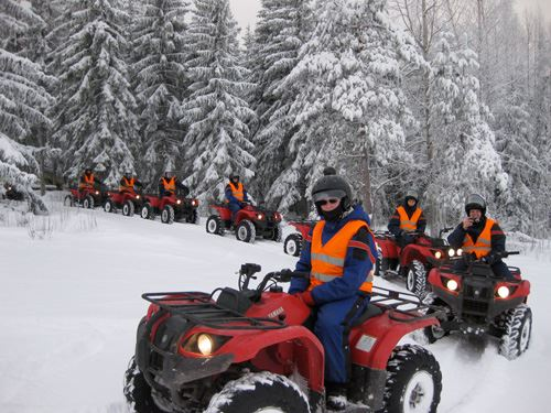 ATV and snowmobile safaris | Jump Up