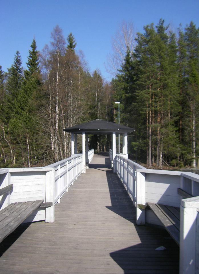 Kinabron at lake Nydalasjön