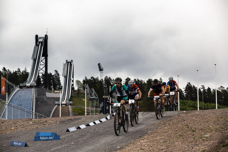 Cykeltävling - Långa Lugnet