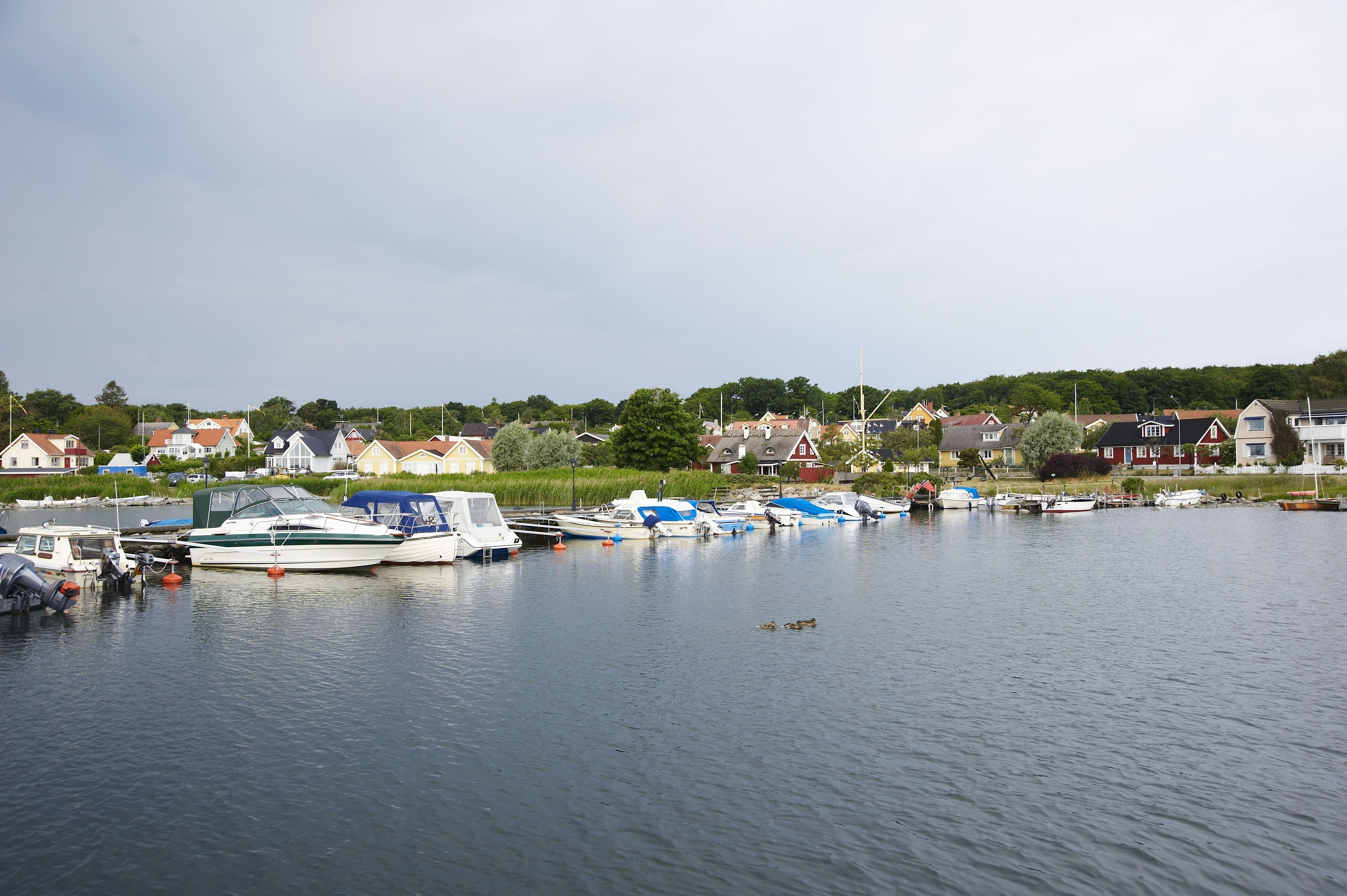Fishing villages on Listerlandet