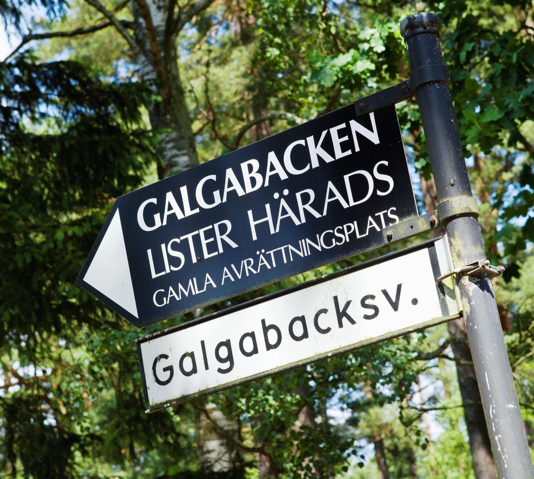 Galgabacken in Pukavik
