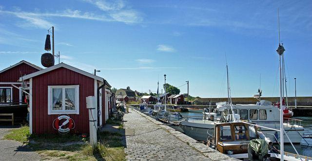 Jonte Göransson, Insel Hanö