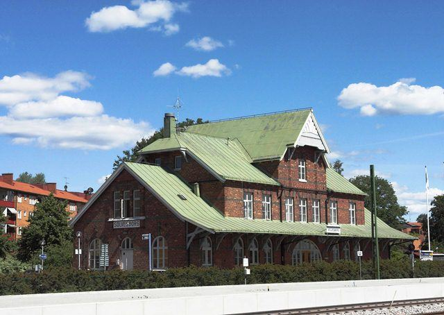 Railway station - historic building