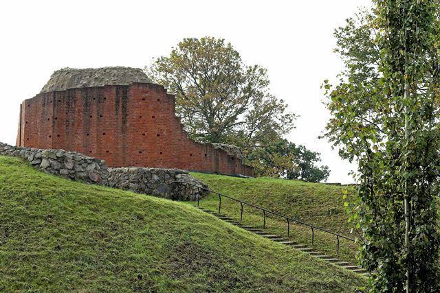 Sölvesborgs Schlossruine