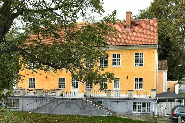 Sölvesborgs Schloss - Corps de logi