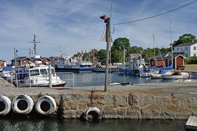 Bootsfahrt nach Hanö