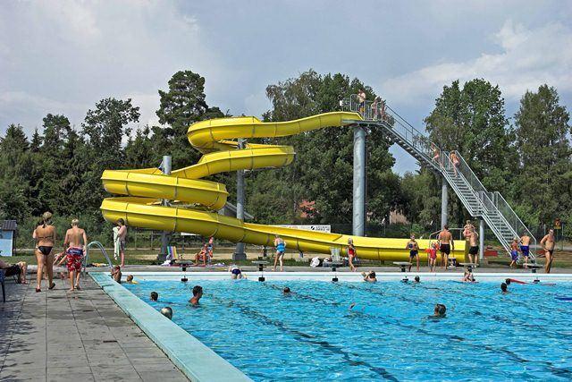 Bath - open air - Hälleviksbadet