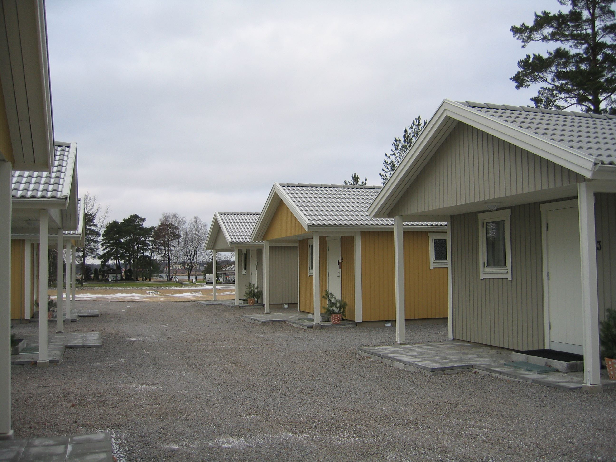 Sölvesborgs Golfklubbs stugby - Ferienhäuser