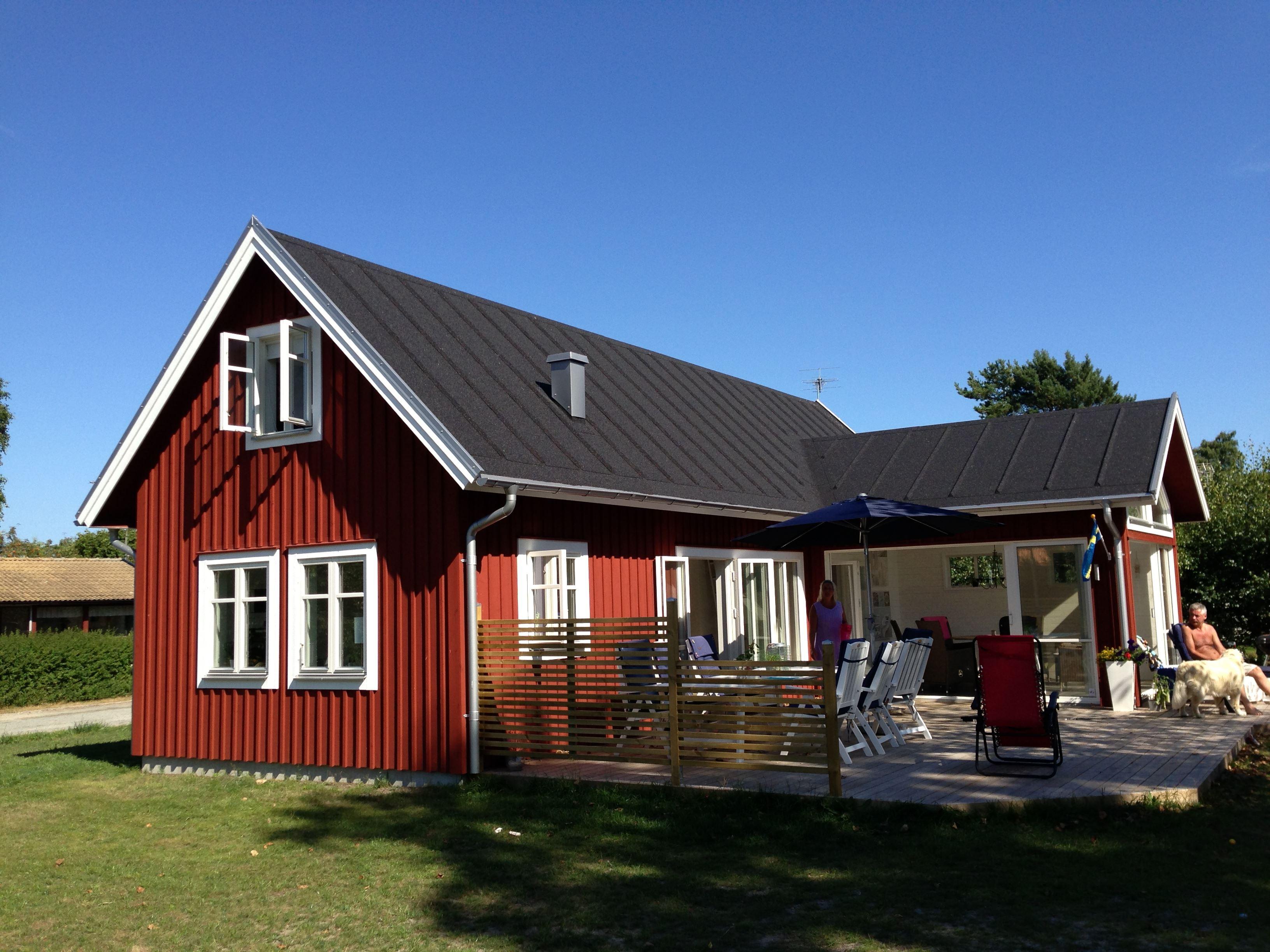 Ferienhaus mit 4+2 Betten - Hällevik