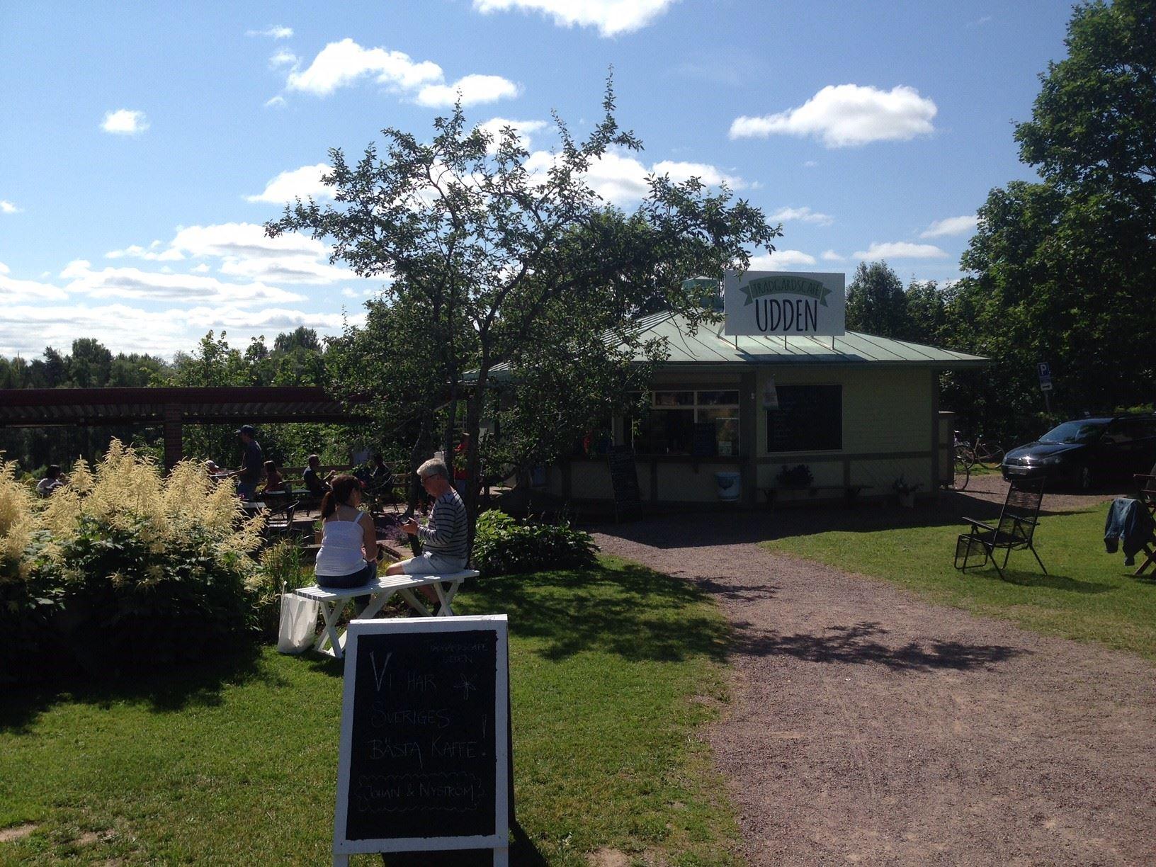 Trädgårdscafé Udden