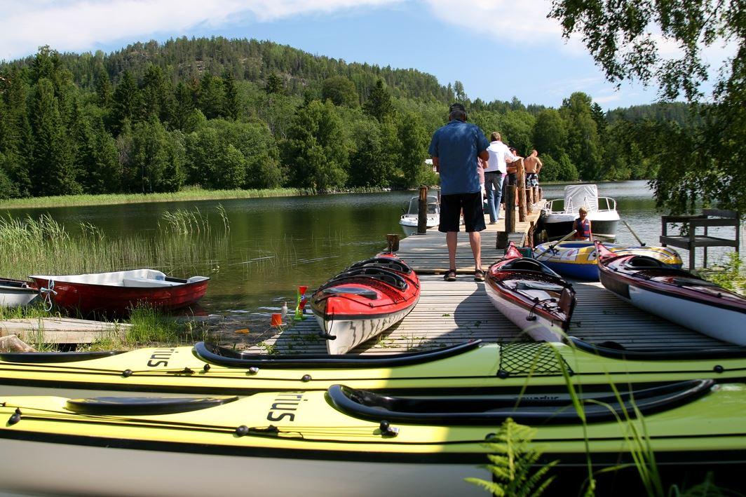 Agne Säterberg,  © Lappuddens Friluftscenter, Kayak and canoe rental at Lappudden