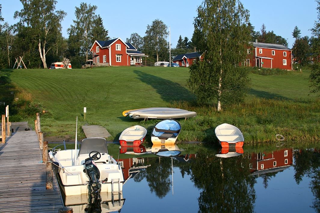 Agne Säterberg,  © Lappuddens Friluftscenter, Båtuthyrning