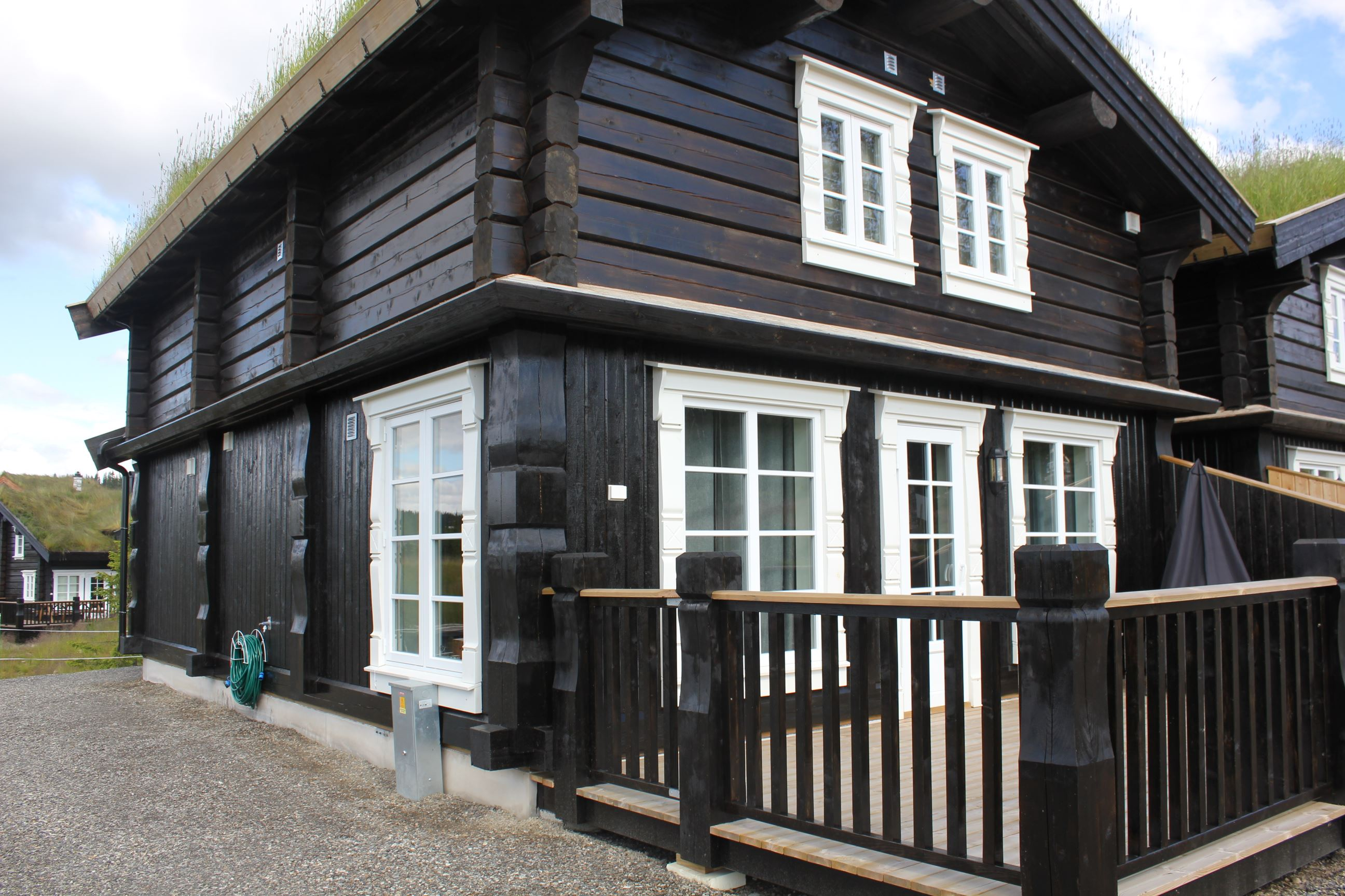 9 beds log cottage in Hafjell
