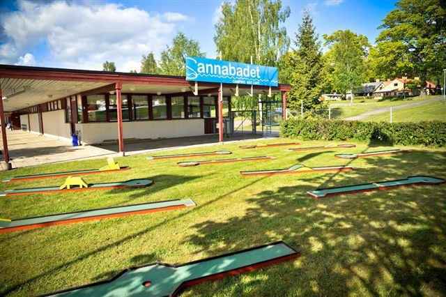 Sannabadet/Camping