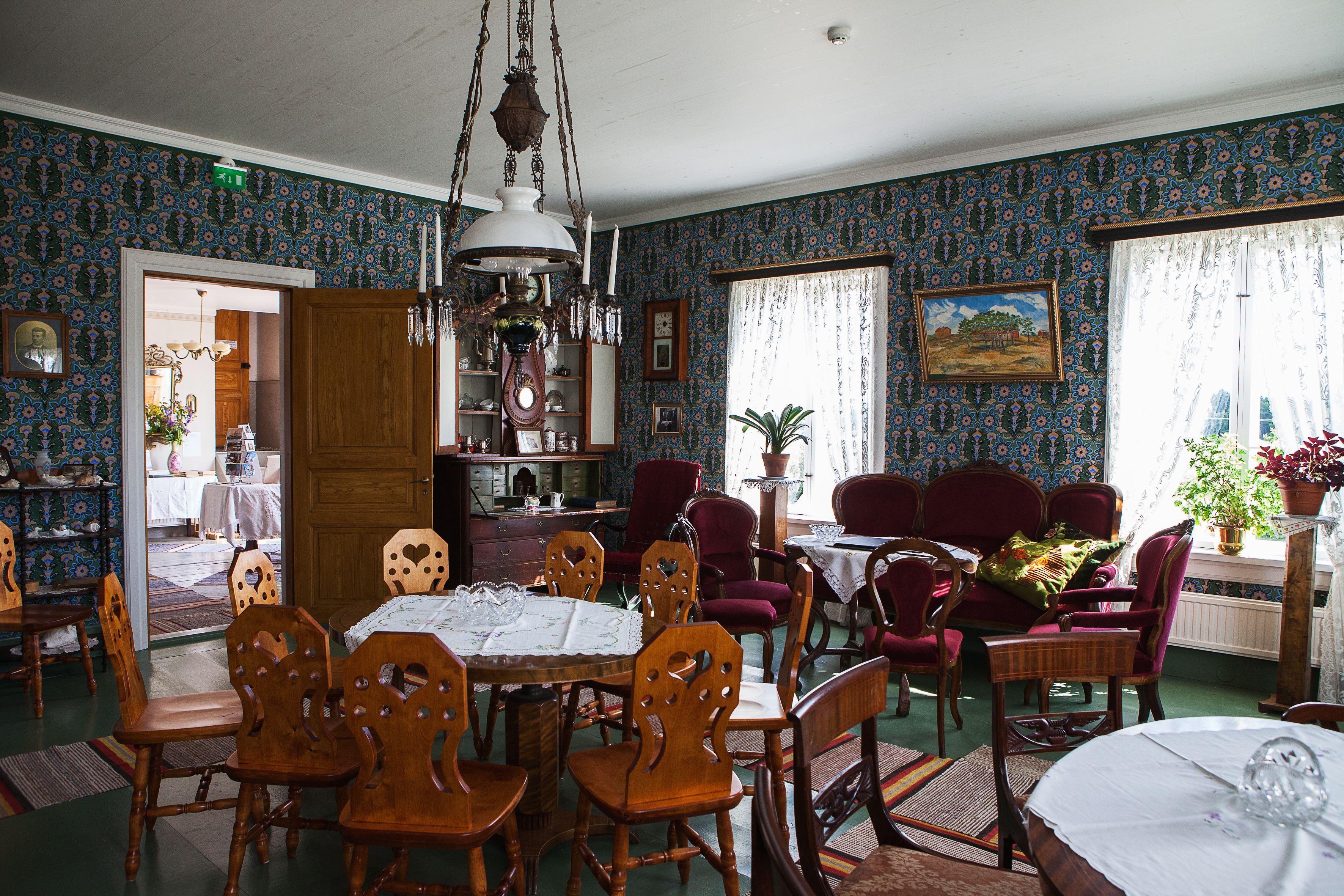 Skeppargården Pellas – café