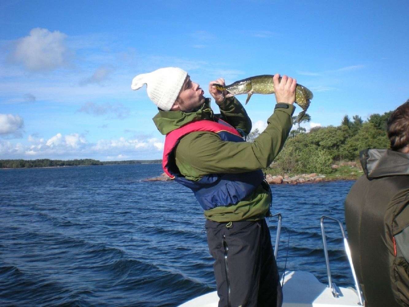 Fishing guide Bo-Erik Westberg