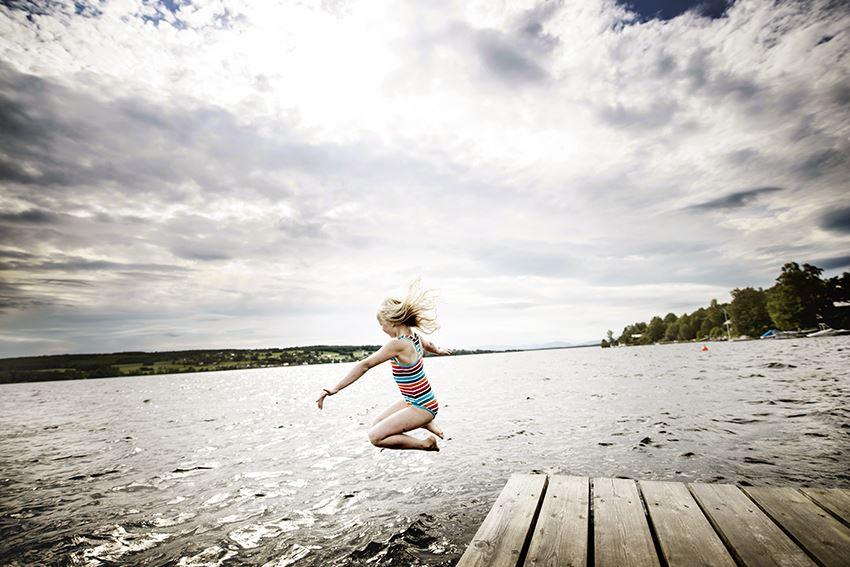 Sandra Lee Pettersson,  © Visit Östersund, Badplatser i Östersund
