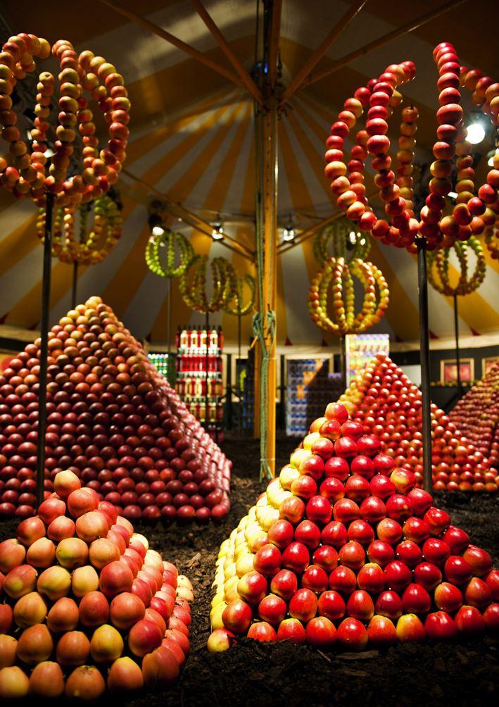Applemarket in Kivik