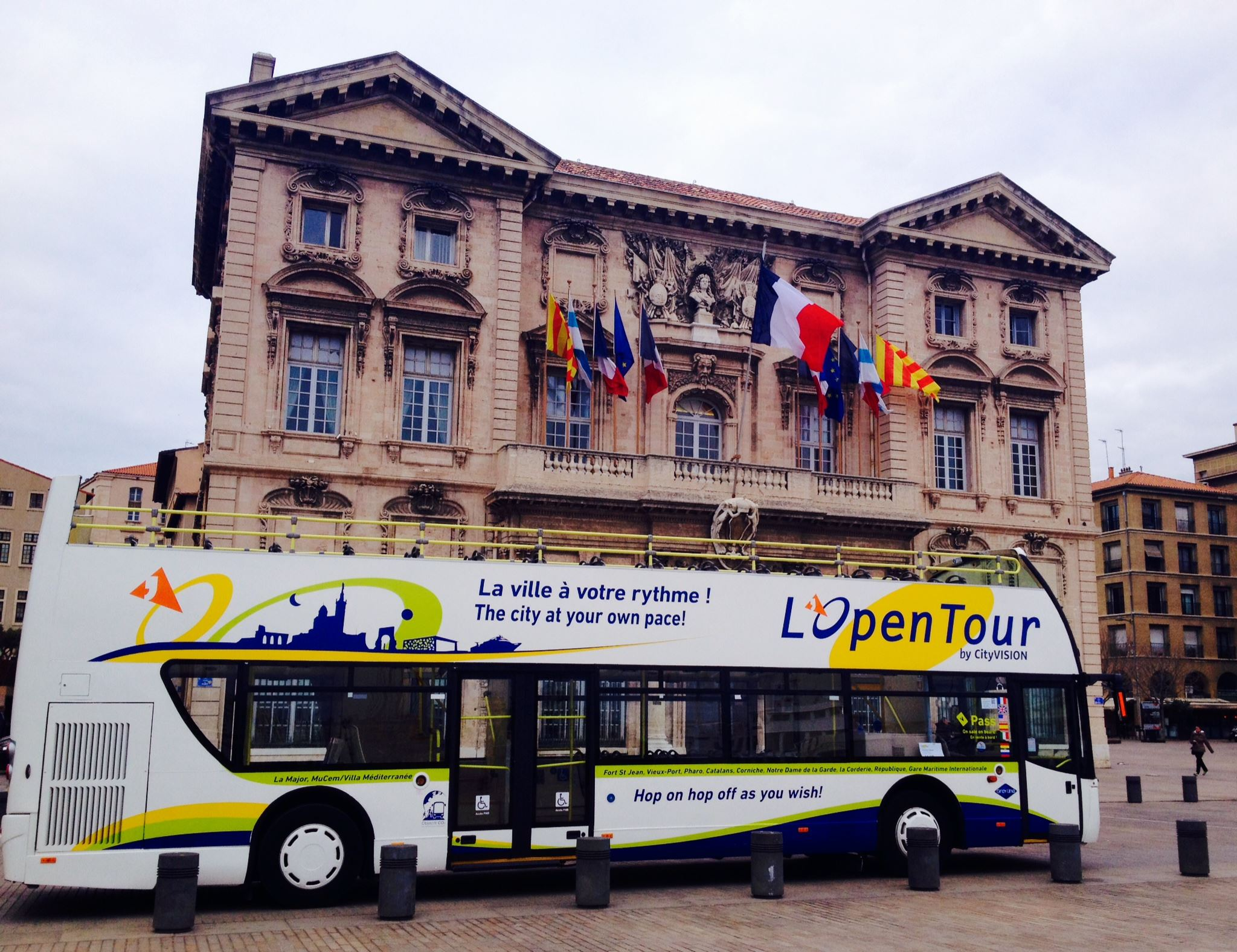 Marseille Panoramic Tour Hop On Hop Off