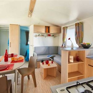MOBILE HOME (4+2 beds, 35 m², WC/shower)