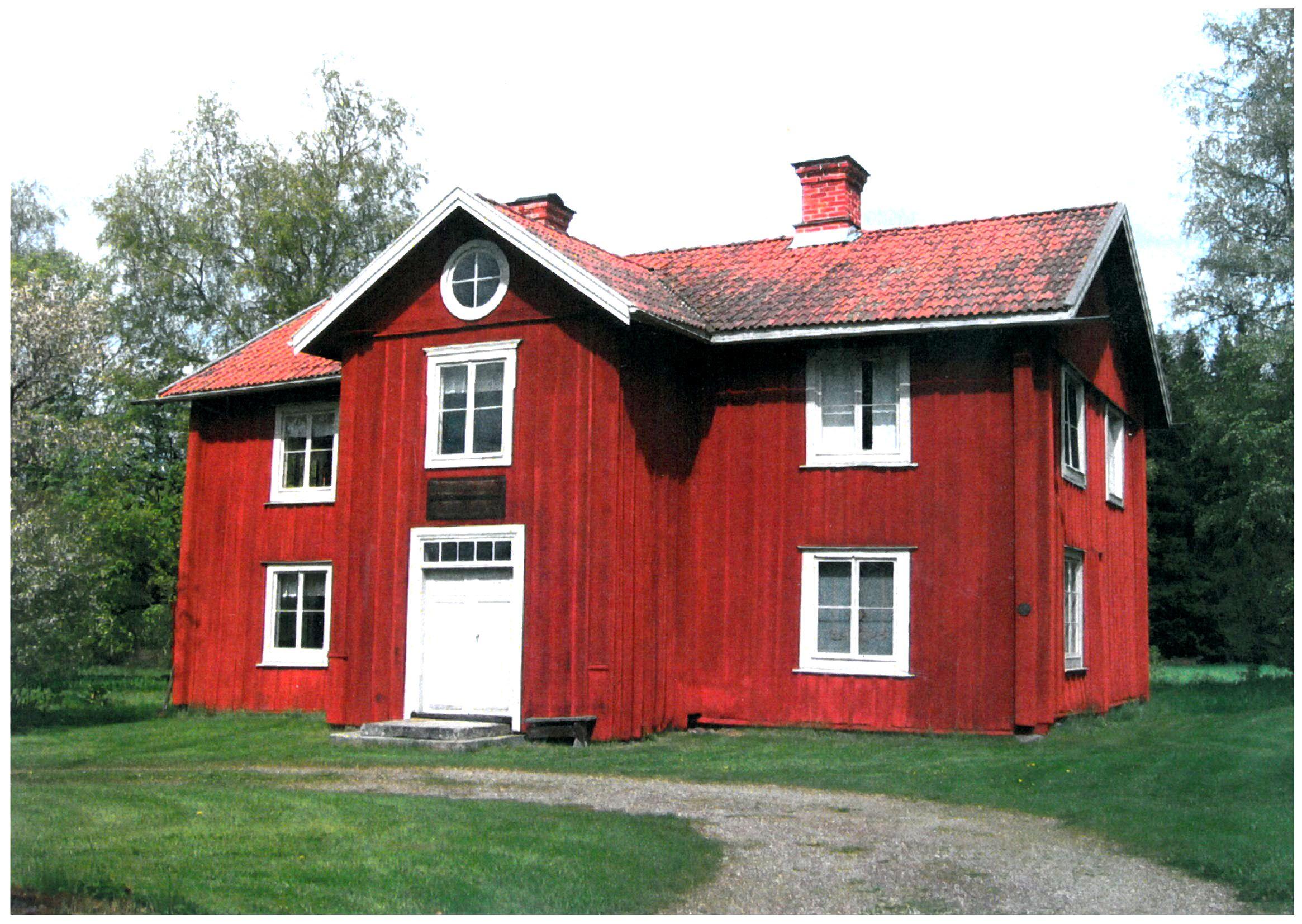 Gun Bergman , Rönnebo kaptensboställe - Hälsingegård