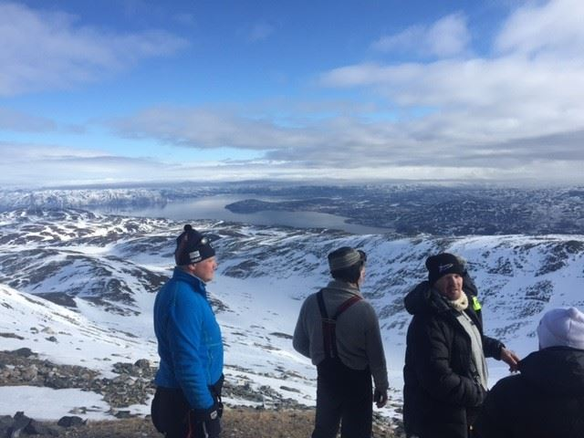 © Alta Event AS, På Halddetoppen med utsikt mot Alta