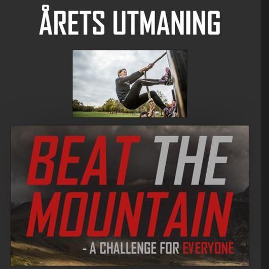 Beat the Mountain - en utmaning för alla