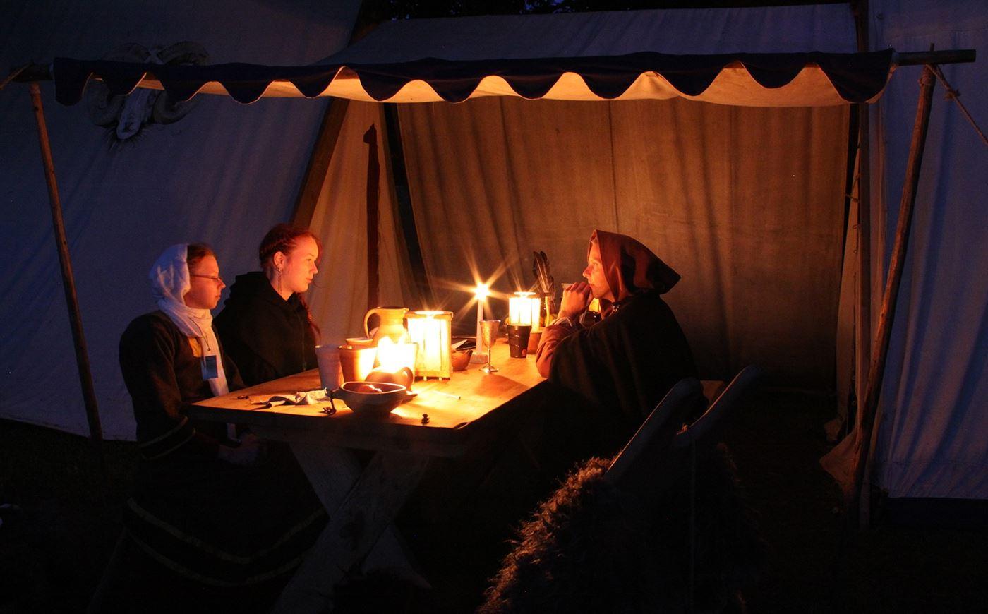 Medeltidsveckans Camping