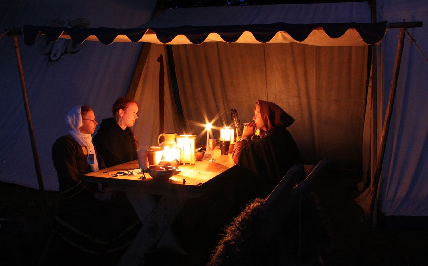 The Medieval Week's Campground