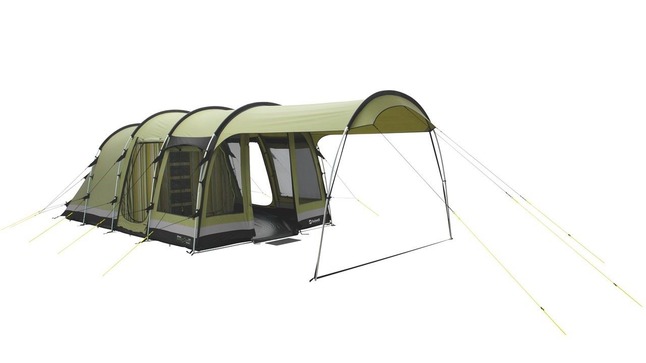 Ready-made family tent, Self-catering