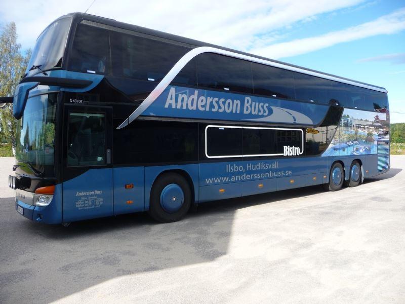 Bistrobuss Setra dubbeldäckare