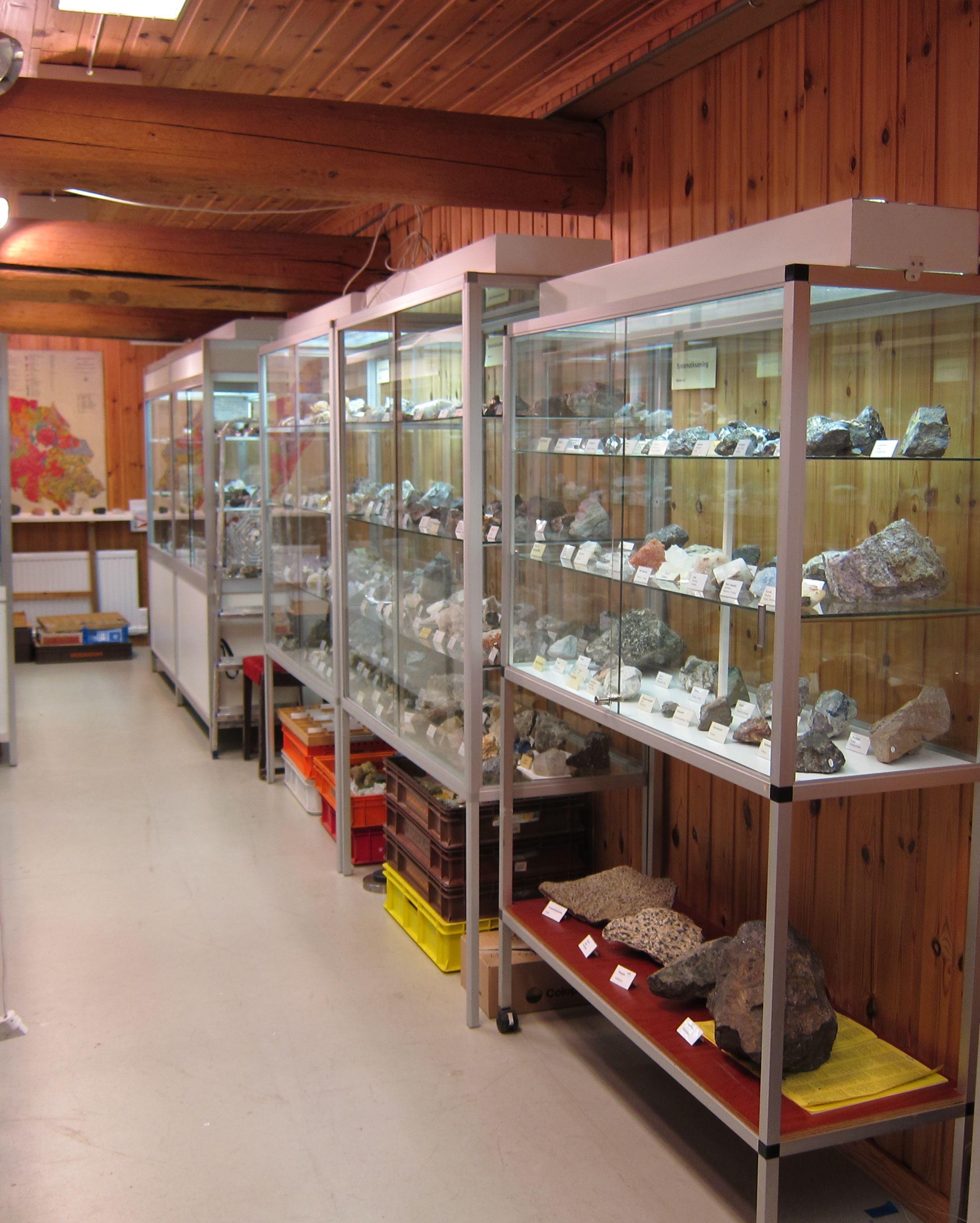 Mineralmuseet på Ludvika Gammelgård