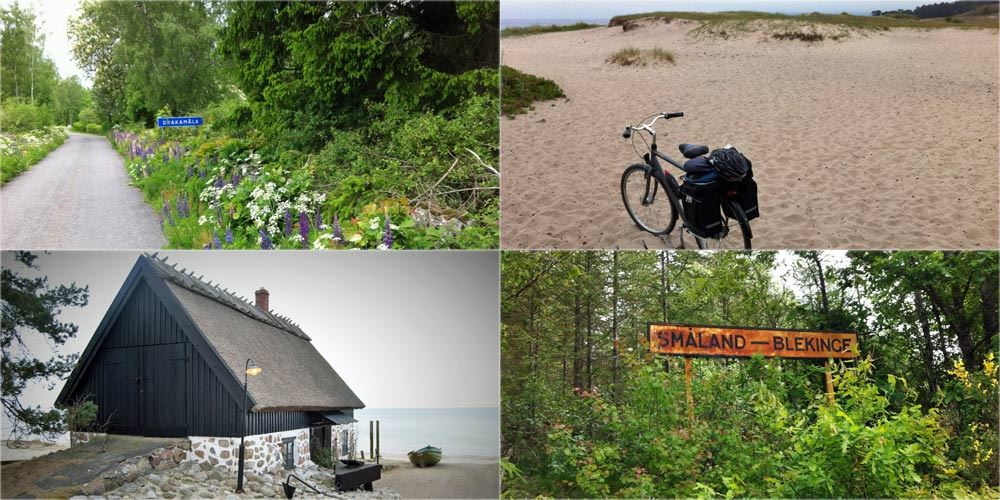 Cykelled - Sydostleden