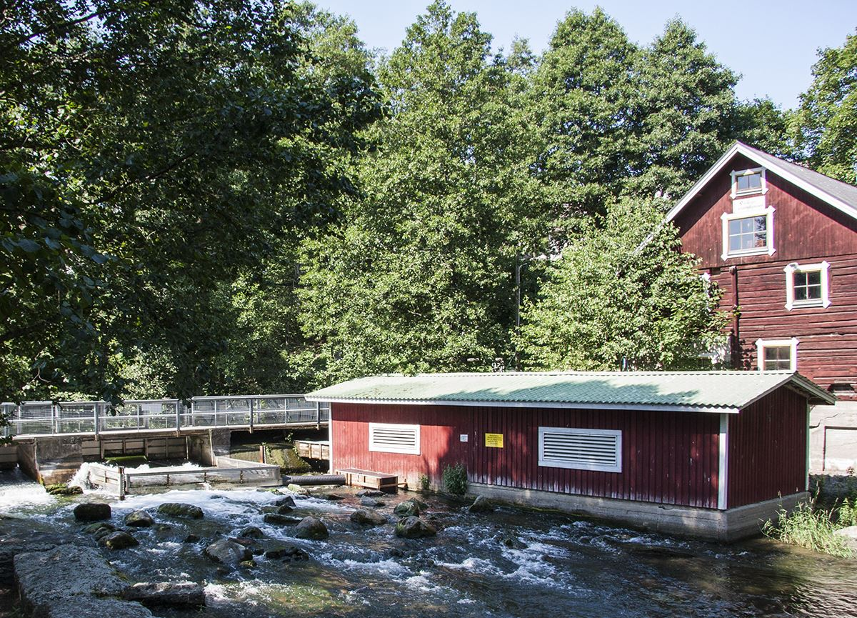 Old Vääksy Village | Vääksy Water Mill Museum