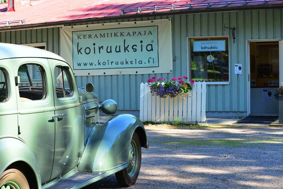 Old Vääksy Village | Keramiikkapaja Koiruuksia, ceramics