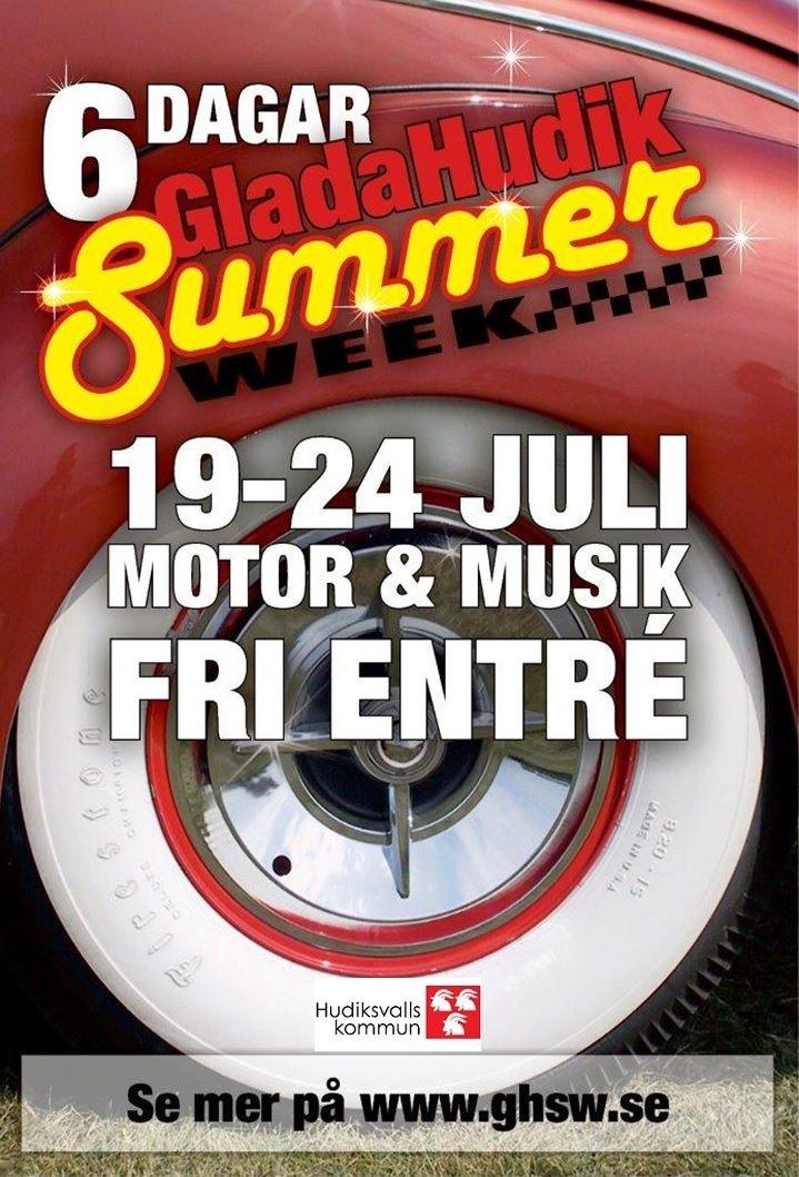 Glada Hudik Summer Week